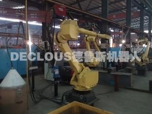建筑塔机标准节机器人焊接工作站