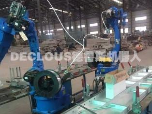 铝模板机器人焊接工作站