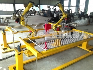养殖围栏机器人焊接