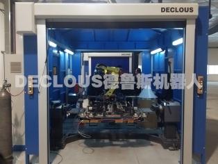 汽车座椅机器人焊接工作站